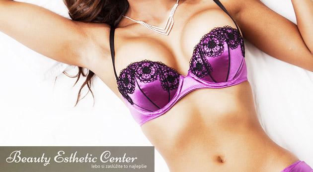 Fotka zľavy: Splňte si sen o krásnom, spevnenom a bujnom poprsí s prístrojom BreastLiftingPlus v Beauty Esthetic Center už od 12,90 €. Navyše bez bolesti a externých výplní!