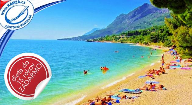 Fotka zľavy: Leto volá po dovolenke v Chorvátsku - 8 dní v Apartmánoch Kristína*** v Gradaci už od 69 €. Na výber i termíny v hlavnej sezóne a dieťa do 15 rokov zadarmo.