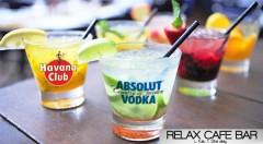 Zľava 56%: Miešané alko drinky len za 1,49 € v Relax Café Bare v Bratislave. Radosť vám urobí osviežujúce Mojito Classic, sladká Piňa Colada, obľúbené Cuba Libre či letné Absolut Strawbery.