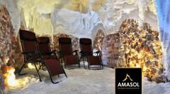 Zľava 40%: Doprajte si blahodarný relax a posilnite si svoju imunitu v soľnej jaskyni Amasol v bratislavskej Dúbravke už od 3,90 € za 1, 5 alebo 10 vstupov. V cene i vstup pre dieťa do 15 rokov!