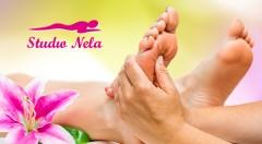 Zľava 47%: Reflexná masáž chodidiel len za 7,90 € v Štúdiu Nela sa postará o vašu dávku relaxu a oddychu! Pomáha tiež odstrániť bolesti chrbtice, nôh, podporí vašu imunitu i správne fungovanie tela.