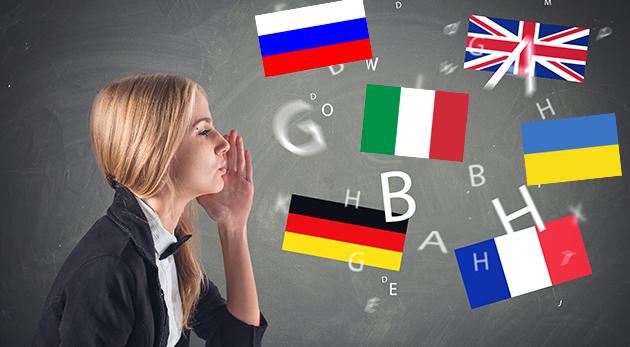 Fotka zľavy: Otvorte si bránu do sveta s 8-hodinovým kurzom angličtiny, nemčiny, francúzštiny, taliančiny, ruštiny alebo ukrajinčiny v trvaní 4 týždňov v centre Bratislavy len za 24 €.