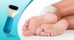 Zľava 39%: Hebká a vláčna pokožka vašich chodidiel ihneď s elektrickým pilníkom na chodidlá Velvet Soft len za 15,90 €. Rýchle a ľahké používanie!