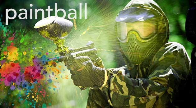 Fotka zľavy: Tri hodiny akčného paintballu v Kalinkove na jednom z najväčších ihrísk na Slovensku len za 6,49 €. V cene výstroj aj 100 guličiek na zastavenie protivníka!