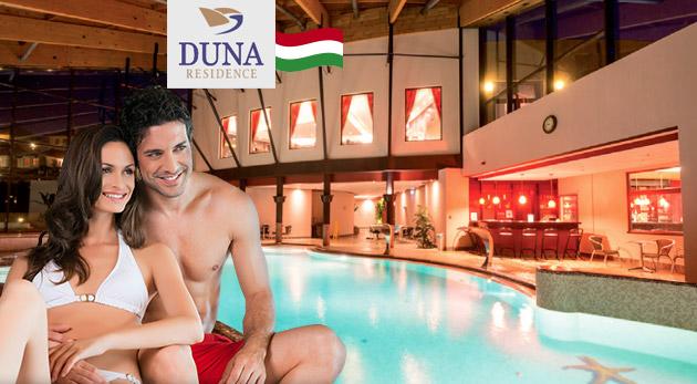 Fotka zľavy: Božský relax aj pre vás! Super wellness pobyt pre dvoch si môžete dopriať už od 160 € v Duna Residence***** v Maďarsku s výbornou polpenziou aj neobmedzeným vstupom do wellness len kúsok od Komárna.
