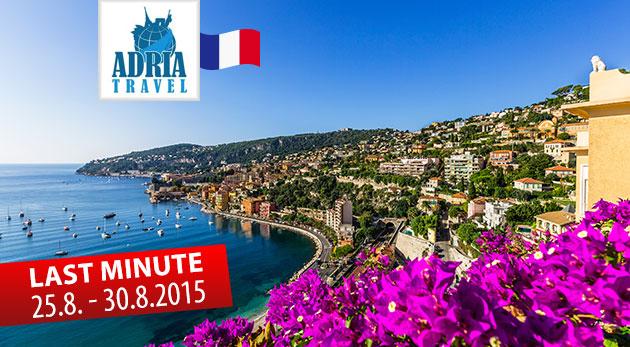 Fotka zľavy: Spoznajte perly Francúzskej riviéry počas 6-dňového zájazdu s CK Adria Travel len za 199 €. Čaká na vás slávne Monaco, Cannes, Nice či Saint-Tropez! V cene autobusová doprava a ubytovanie v hoteli!