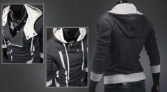 Zľava 54%: Oživte svoj šatník s pánskou mikinou na zips s veľkou kapucňou len za 19,99 €. Buďte trendy a vyberte si tú svoju. Na výber v čiernom alebo šedom prevedení.