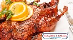Zľava 40%: Kačacie alebo husacie hody až pre 5 osôb už od 49 € z obľúbenej reštaurácie Husacina u Galika v Slovenskom Grobe. Pochutnajte si v pohodlí domova na vynikajúcom jedle!