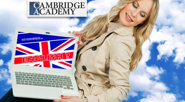 Fotka zľavy: 12-, 24- alebo 36-mesačný jazykový online kurz v Cambridge Academy už od 14,90 €. Učte sa anglicky v pohodlí domova!