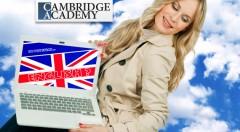 Zľava 96%: 12-, 24- alebo 36-mesačný jazykový online kurz v Cambridge Academy už od 14,90 €. Učte sa anglicky v pohodlí domova!