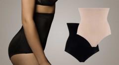 Zľava 50%: Zoštíhľujúce nohavičky, ktoré krásne vytvarujú vaše brušné partie i boky, len za 5,99 €. Príjemný a priedušný materiál, na výber v čiernej alebo telovej farbe a dvoch veľkostiach.