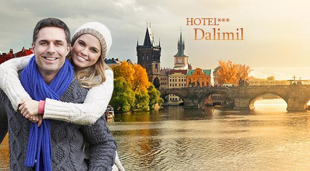 Fotka zľavy: Vychutnajte si čarovnú jesennú atmosféru Prahy - ubytujte sa na 3 alebo 4 dni v Hoteli Dalimil*** na Žižkove blízko centra Prahy už od 39,90 € s raňajkami.