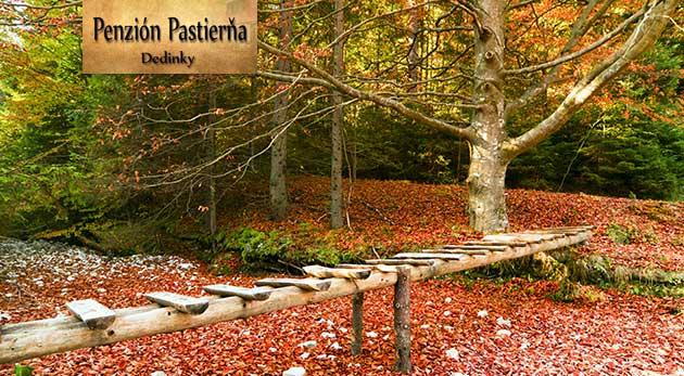 Fotka zľavy: Vyhľadávaný a obľúbený Penzión Pastierňa v Slovenskom raji - 3 dni pre dvoch s raňajkami len za 59,90 €. Užijete si turistiku aj lyžovanie!