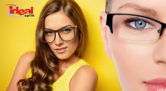 Zľava 71%: Dioptrické sklá s antireflexom, PC filtrom, hydrofóbnou úpravou a tvrdením len za 14,90 € vrátane vyšetrenia zraku zdarma a zľavy na akýkoľvek rám v predajni Idealoptik. Kvalitné služby pre váš zrak!