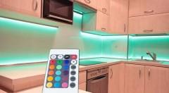 Zľava 68%: Nič neskrášli váš byt tak, ako príjemné dekoratívne či nočné osvetlenie! S LED pásom s diaľkovým ovládaním len za 12,99 € vytvoríte útulný domov.