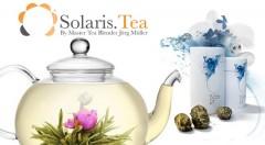 Zľava 40%: Exkluzívne kvitnúce čaje SOLARIS už od 1,49 €, s ktorými bude pitie čaju zážitkom. Púčiky z bieleho čaju a jasmínu sú z kontrolovaného ekologického hospodárstva.