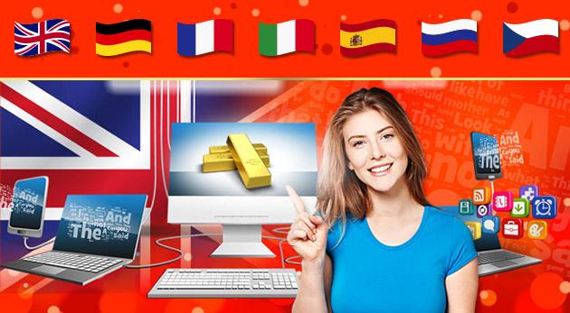 Fotka zľavy: Rozšírte si vedomosti so vzdelávacou online sústavou cez váš mobil, počítač či tablet! Angličtina, nemčina, technika, svet, historická Praha či dejiny bez obmedzení kedykoľvek a kdekoľvek už od 3,29€.