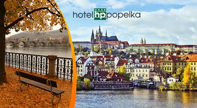 Fotka zľavy: Prežite pár dní v Prahe v Hoteli Popelka**** už od 34,50€. Vyberte si balíček s ubytovaním a raňajkami alebo aj so vstupom do aquaparku. A 1 dieťa do 3 rokov zadarmo!
