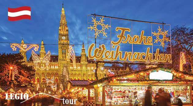 Fotka zľavy: Spoznajte Viedeň v najkrajšom adventnom období počas jednodňového zájazdu len za 12,50 €. Vychutnajte si vianočné trhy s lákavou vôňou horúceho punču, rôznych dobrôt či romantickou ligotavou výzdobou!