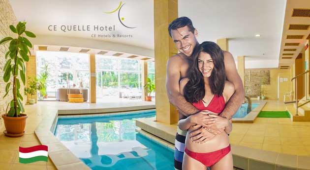 Fotka zľavy: Blahodarný relax, ktorý vás naštartuje v maďarskom kúpeľnom mestečku Hévíz - v Ce Quelle Hoteli**** už od 139 € pre dvoch s polpenziou a neobmedzeným wellness!