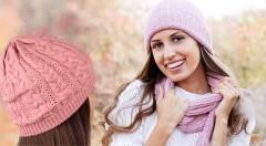 Zľava 31%: Zahrejte sa v nadchádzajúcom chladnom období trendy teplými čiapkami už od 3,39 € - na výber 2 druhy a niekoľko farieb.