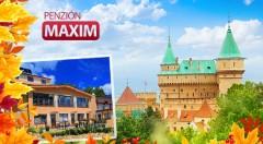 Zľava 51%: Spoznajte romantické Bojnice a doprajte si dni plné oddychu v Penzióne Maxim v Bojniciach už od 69 € pre dvoch s polpenziou aj vstupom do wellness.