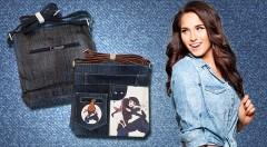 Zľava 47%: Trendy kabelky z džínsoviny, ktoré dodajú vášmu outfitu originalitu a štýl, len za 9,99 €. Na výber z 5 modelov.