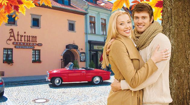 Zľava 27%: Vychutnajte si relaxačný víkend v historickej Spišskej Sobote pod Tatrami v krásnom Penzióne Atrium len za 59,90 € pre dvoch s raňajkami, zľavou do wellness a Aquacity Poprad. Dieťa do 3 rokov zdarma.