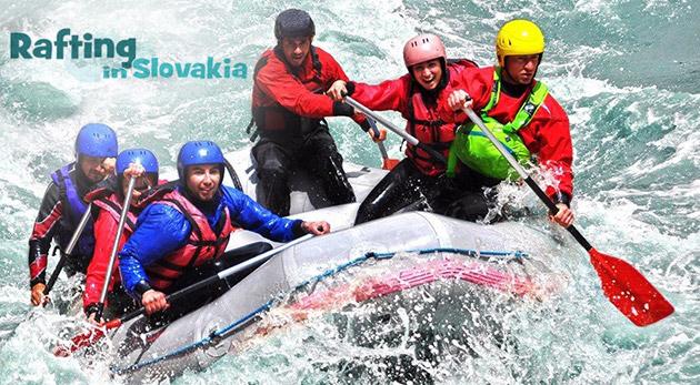 Fotka zľavy: Dve hodiny adrenalínu počas najkrajšieho splavu na Slovensku - na rieke Belá len za 24,90 €! Skúsený inštruktor vás prevedie všetkými nástrahami. V cene i zapožičanie výstroja a foto a video záznam.