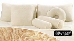 Zľava 51%: Jedna alebo dve sady hrejivej deky a vankúšov zo 100 % ovčej vlny už od 26,99 €. Prírodný materiál s výbornými termoizolačnými vlastnosťami pre zdravý a komfortný spánok!