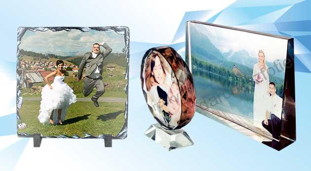 Fotka zľavy: Originálny a zaujímavý doplnok - skrášlite si domov precízne opracovaným kameňom osadeným v plastovom stojane alebo fotokryštálom s vašou fotografiou už od 8,90 €!