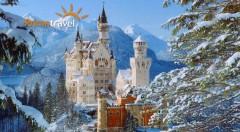 Zľava 35%: V zajatí romantiky sa ocitnete na bavorských zámkoch, ktoré navštívite počas adventu! 2-dňový zájazd s ubytovaním v hoteli, raňajkami, autobusovou dopravou aj sprievodcom len za 119 €.