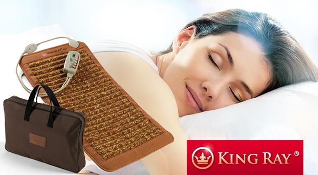 Fotka zľavy: Zlepšite svoje zdravie počas dobrého spánku! Sálavo-hrejivý matrac so 7 druhmi minerálov pre detoxikáciu vášho organizmu len za 99 € vrátane poštovného a balného.