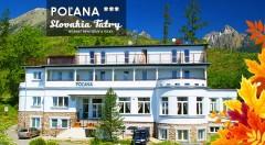 Zľava 50%: Príďte si vychutnať babie leto vo Vysokých Tatrách - na 3 dni vás pozýva Penzión Poľana*** priamo na úpätí Slavkovského štítu len za 47 € vrátane polpenzie, vstupu do relax centra a ďalších bonusov.