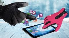 Zľava 56%: Kvalitné zimné rukavice odolné voči vetru a miernemu dažďu len za 10,99 €. Poteší vás vnútorné zateplenie, protišmyková úprava spodnej časti a špičky prstov upravené na dotykové displeje!