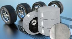 Zľava 39%: Uskladnite svoje sezónne pneumatiky v suchu a čistote - súprava ochranných obalov na pneumatiky len za 10,90 € - 4 ks v balení.