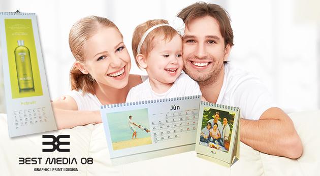 Fotka zľavy: Majte vaše najmilšie okamihy na očiach celý budúci rok! Stolový alebo nástenný kalendár z vašich vlastných fotografií už od 3,50 €. Vhodné aj ako originálny darček pre vašich blízkych!
