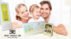 Zľava 60%: Majte vaše najmilšie okamihy na očiach celý budúci rok! Stolový alebo nástenný kalendár z vašich vlastných fotografií už od 3,50 €. Vhodné aj ako originálny darček pre vašich blízkych!