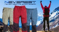 Zľava 59%: Maximálne pohodlie počas športovania či turistiky vám zaručia pánske športové nohavice Neverest len za 11,40 € vo viacerých farbách či veľkostiach.