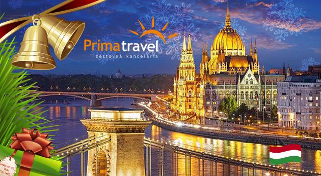 Fotka zľavy: Vianočná atmosféra na vás dýchne odvšadiaľ - adventný čas v Budapešti je proste nádherný. Prehliadka mesta a návšteva trhov počas jedného dňa len za 17 € s Prima travel.