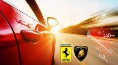 Zľava 74%: Vyskúšajte nové talianske strely Lamborghini Huracán LP 610-4 alebo Ferrari F458 Italia o sile okolo 600 koní už od 39 €! Jazda na nezabudnutie v dĺžke 32 km!