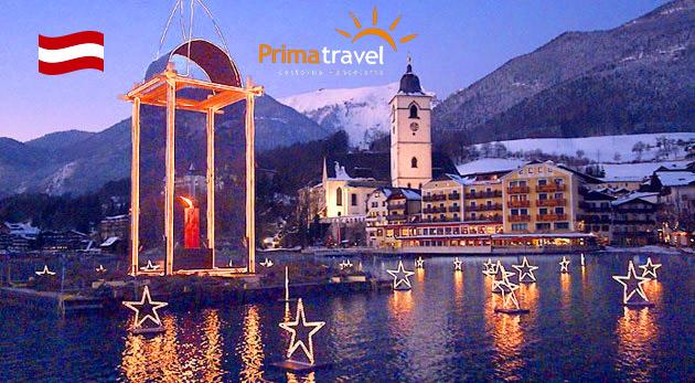 Fotka zľavy: Najkrajšie adventné miesta Rakúska počas 2 dní len za 109 € vrátane dopravy a ubytovania - čaká vás malebný vianočný Salzburg, legendárna výzdoba na jazere Wolfgangsee či čarovná dedinka Hallstatt!