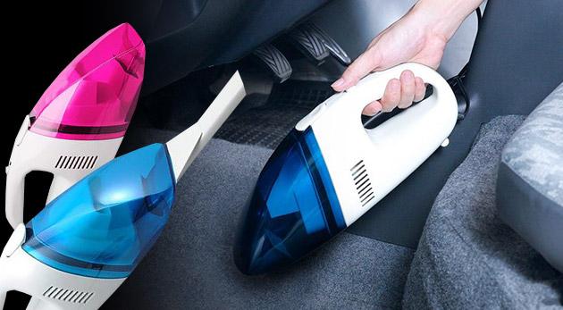 Fotka zľavy: Udržiavajte svoje autíčko vždy čisté! S ručným cyklónovým autovysávačom na 12V len za 9,99 € to bude jednoduché. Pohodlné vysávanie vďaka dlhému káblu a úžasnému výkonu.