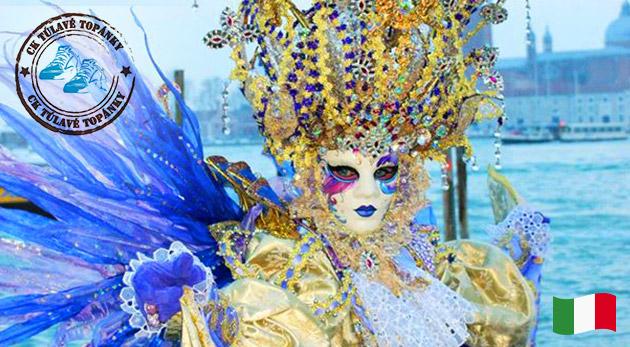 Fotka zľavy: Vychutnajte si nezameniteľnú atmosféru svetoznámeho karnevalu v Benátkach! 3-dňový autobusový zájazd len za 55 € plný masiek, farieb a zábavy!