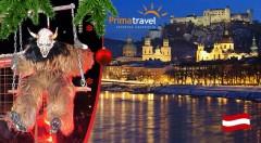 Zľava 30%: Zúčastnite sa najväčšieho behu čertov v Európe a nechajte sa očariť adventným Salzburgom počas 2-dňového zájazdu len za 119€ vrátane autobusovej dopravy, ubytovania v hoteli s raňajkami a sprievodcu.