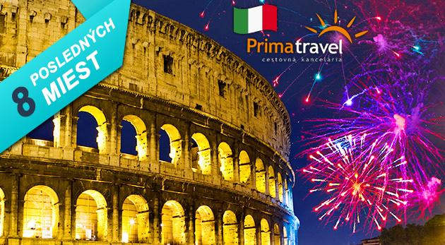 Fotka zľavy: Prežite nezabudnuteľných 5 dní v Ríme, jednom z najznámejších miest sveta a oslávte nezabudnuteľný Silvester len za 169 € vrátane dopravy, ubytovania v 3* hoteli a raňajkami.