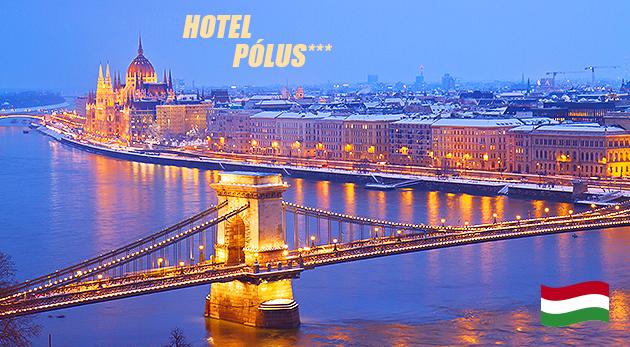 Fotka zľavy: Urobte si výlet do magickej Budapešti! Na 3 alebo 4 dni vás privíta príjemný Hotel Pólus*** už od 62 € pre dvoch s raňajkami alebo polpenziou a voľným vstupom do fitness. Dieťa do 10 rokov zadarmo!