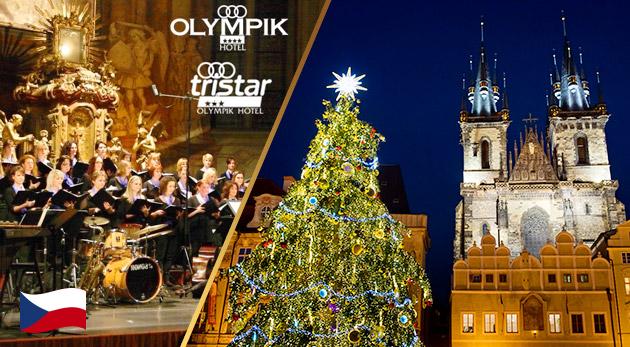 Fotka zľavy: Začiatok Adventu a rozsvietenie stromčeka v Prahe - pobyt v 3* alebo 4* hoteli s raňajkami a vstupenka na Vianočný koncert Carmina Bohemica už od 69 €! Užite si pár dní, kým vypukne vianočný stres!