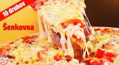 Zľava 56%: Doprajte si veľkú chrumkavú pizzu v košickom pube Šenkovna len za 1,99 € - na výber z 9 druhov. Možnosť osobného odberu.
