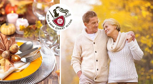 Fotka zľavy: Jesenná romantika pre seniorov na Spiši v historickom kaštieli Biela dáma a Čierny rytier za 155 € pre dvoch vrátane plnej penzie prispôsobenej potrebám seniorov a masáží.